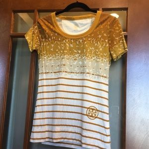 Never worn. Tory Burch tee size Small.